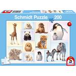 Schmidt Wilde Babydieren, 200 stukjes