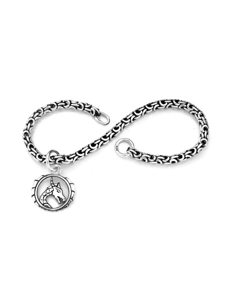 Faerybeads Draken Staart Logo Armband