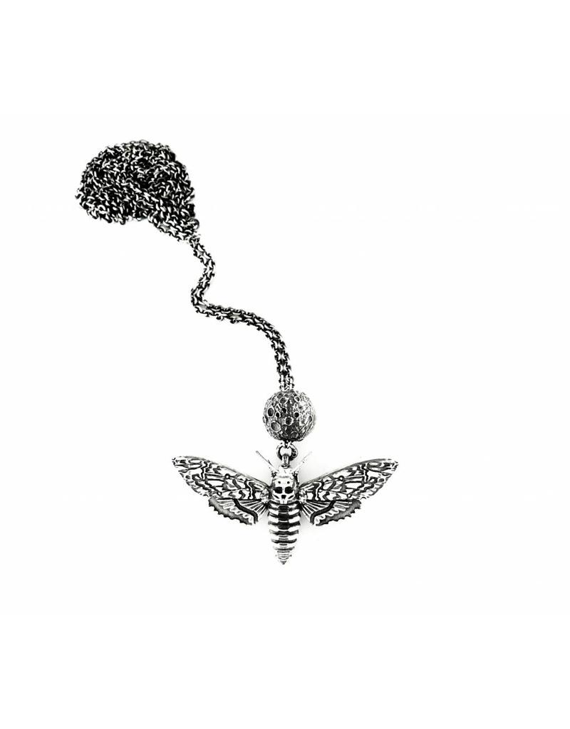 Faerybeads Death's Head Hawkmoth Necklace