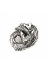 Faerybeads Coiling Dragon Pendant