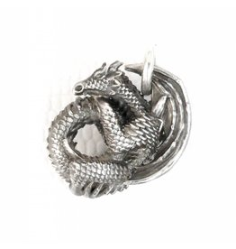 Faerybeads Coiling Dragon Pendant - Retired