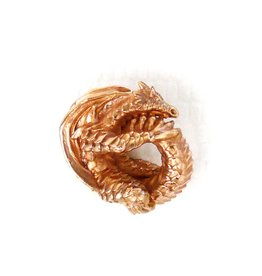 Faerybeads Coiling Fire Dragon | 18k red gold - Retired