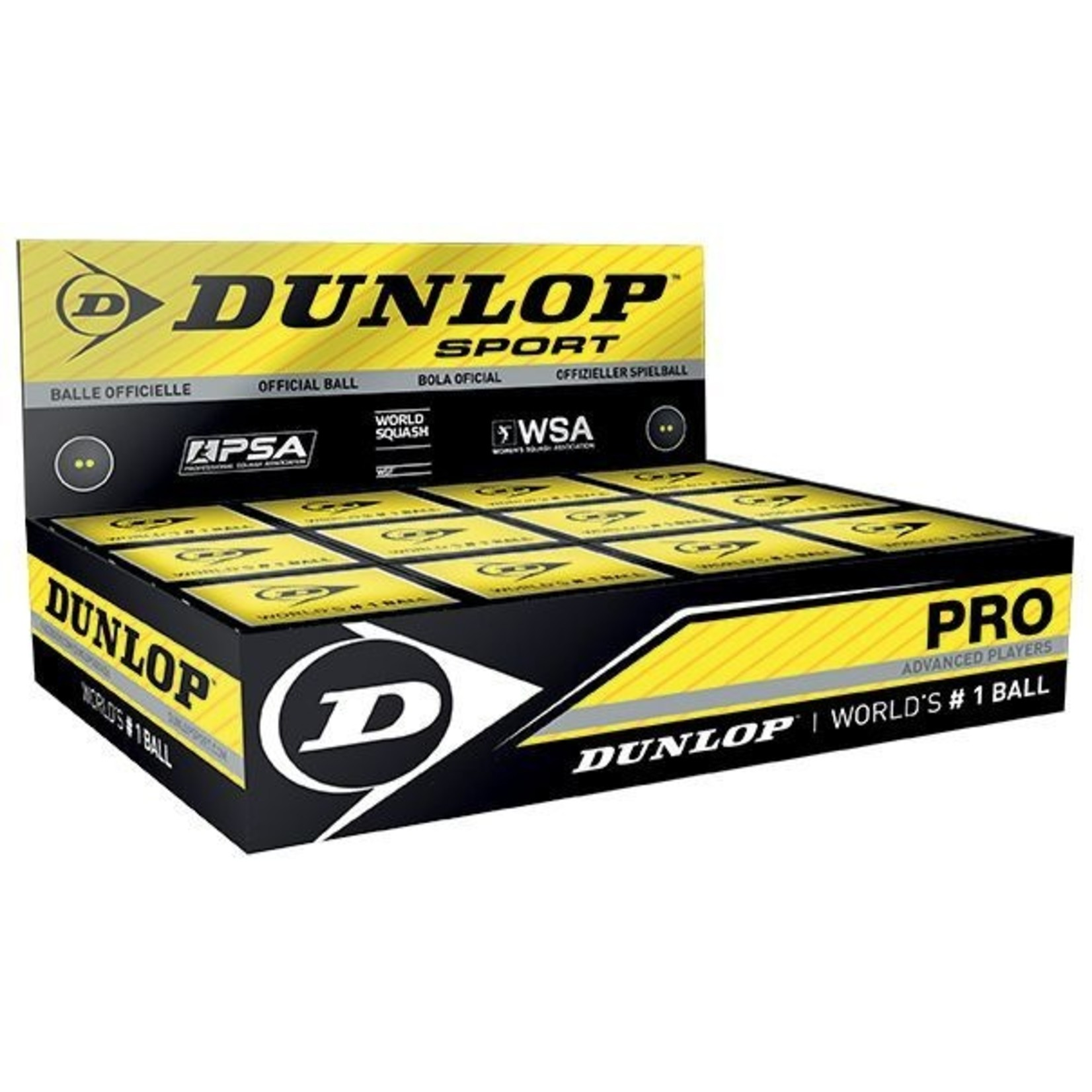 Dunlop Squashballen per dozijn