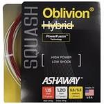 Ashaway Oblivion snaar Reel (60x60m) white/red