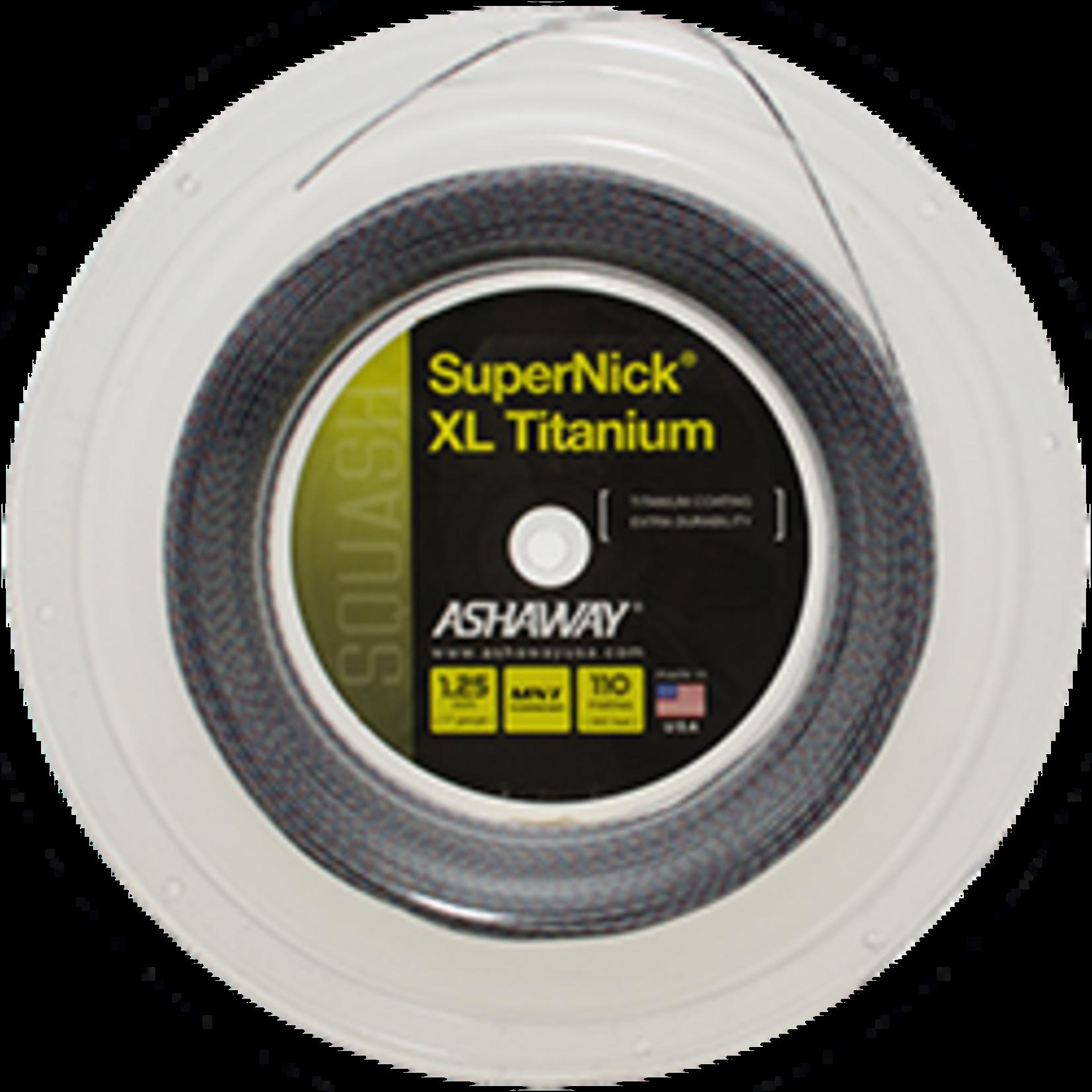 Ashaway SuperNick XL Titanium Squash 1,25mm