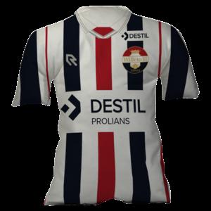 Shirtkussen Willem II - Thuis 2020/2021