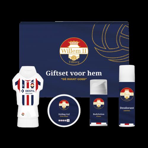 """Willem II Giftbox voor hem """"Dè ruukt goed"""""""