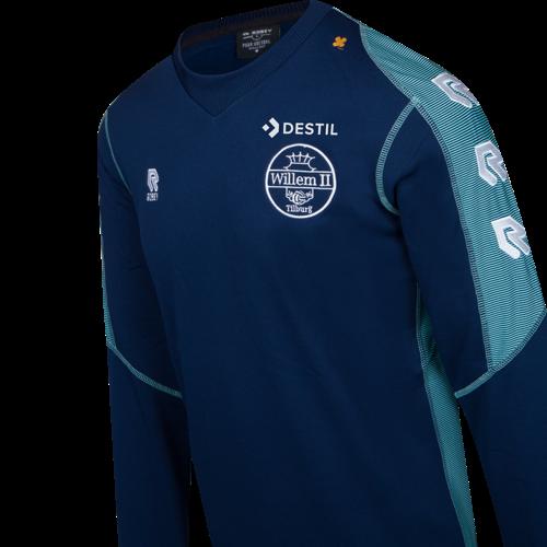 Robey Willem II Training Top (navy/mint) - Junior