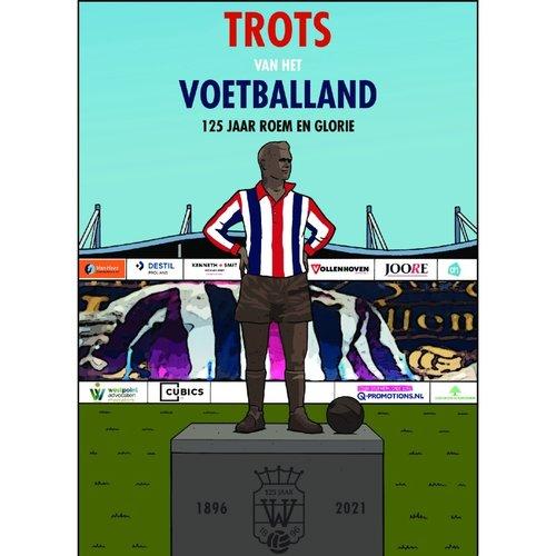 stripboek: 'Trots van het voetballand, 125 jaar roem en glorie'