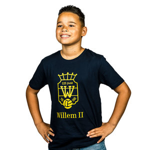 Willem II 125 jaar Kids T-shirt - Navy