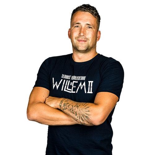 Willem II T-shirt Vlag
