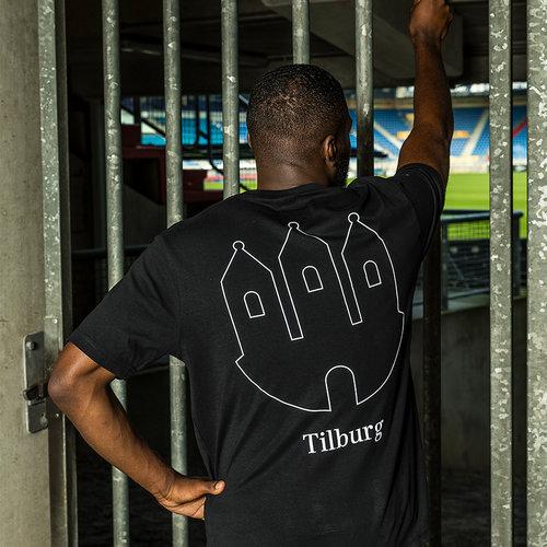 Willem II T-shirt Tilburg - Zwart