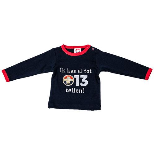 Willem II Baby T-shirt - 3-6m