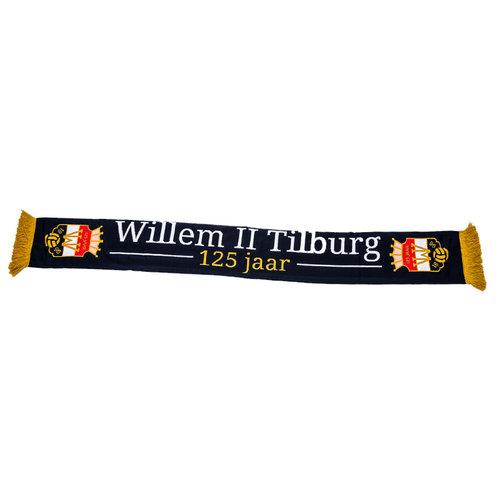Willem II Jubileum Sjaal - 125 jaar - Navy/Gold