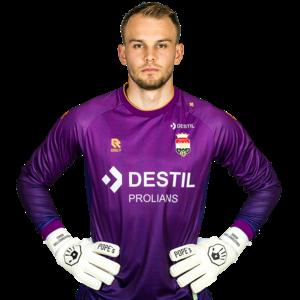 Robey Willem II Goalkeeper shirt Purple - 2021-2022- Junior