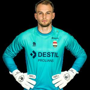 Robey Willem II Goalkeeper shirt Blue - 2021-2022- Junior