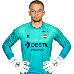 Willem II Keepersshirt Blauw - 2021-2022 - Senior