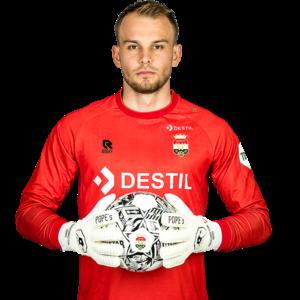 Robey Willem II Keepersshirt Rood - 2021-2022 - Senior