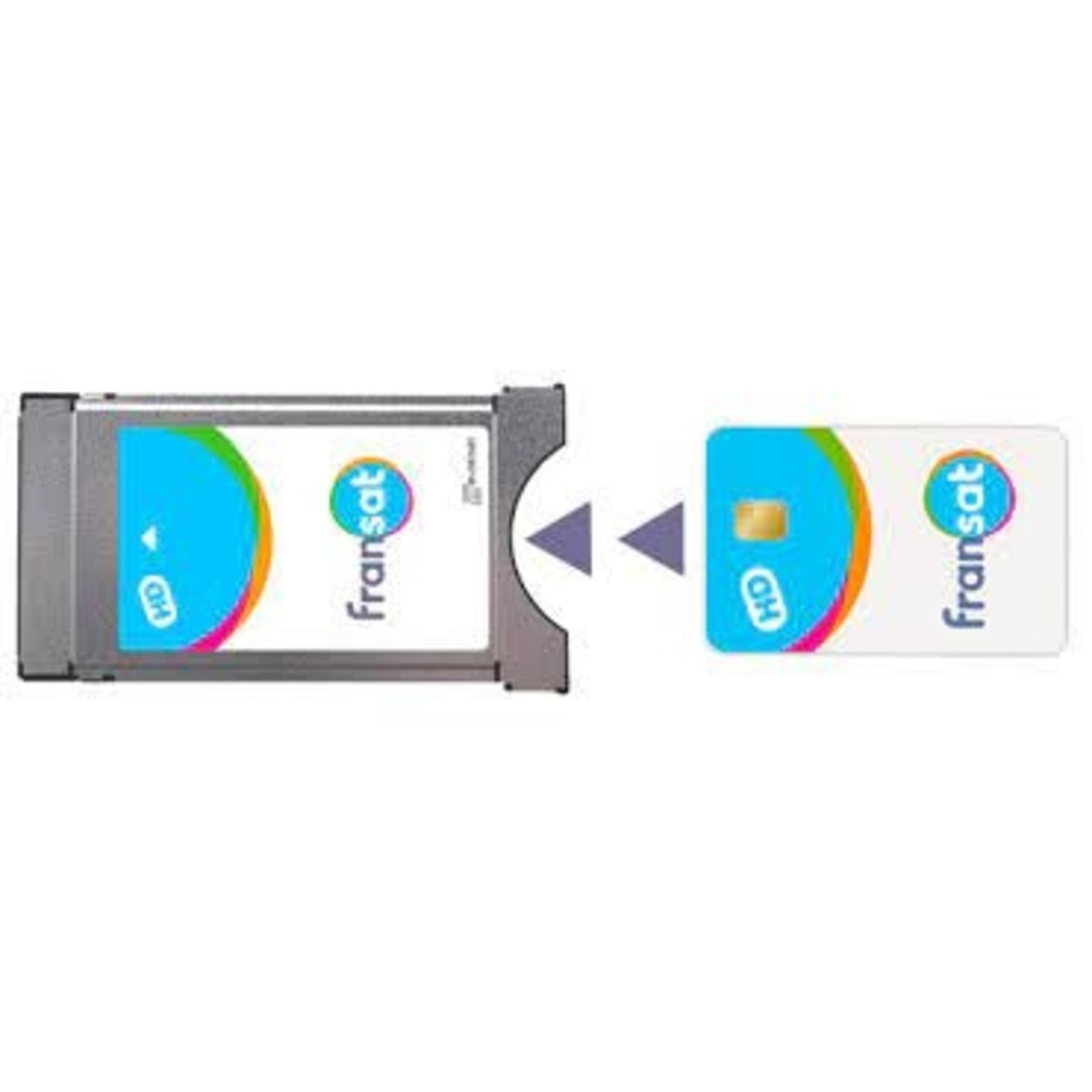 FRANSAT ABB FRANSAT HD + MODULE CI + POUR TV COMPAT.