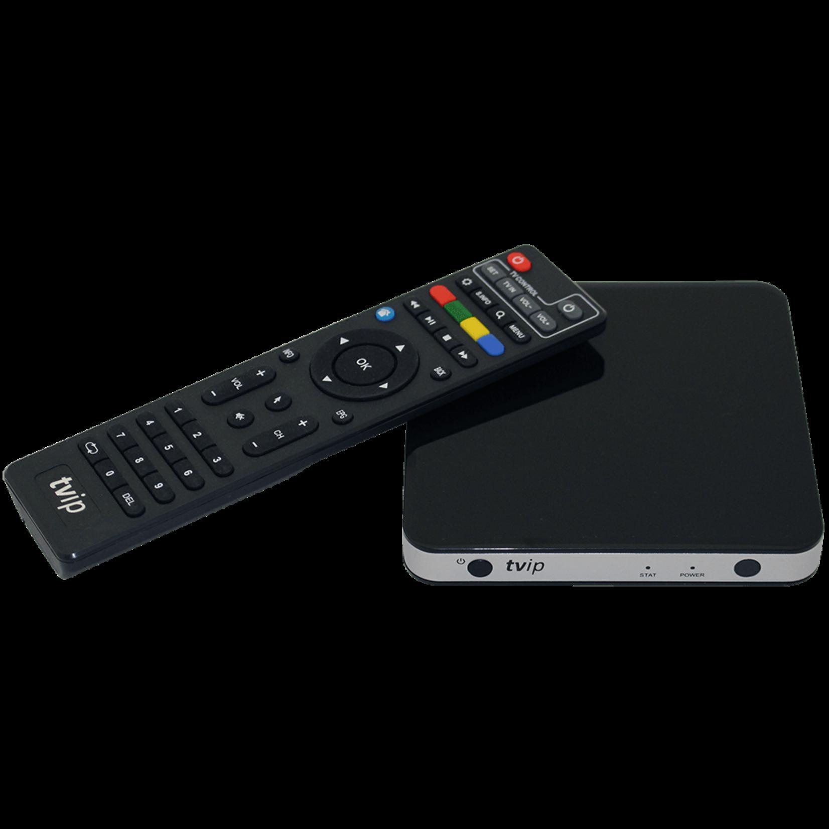 TVIP RECEPTEUR TVIP S605 - 4K ultra - avec double wifi