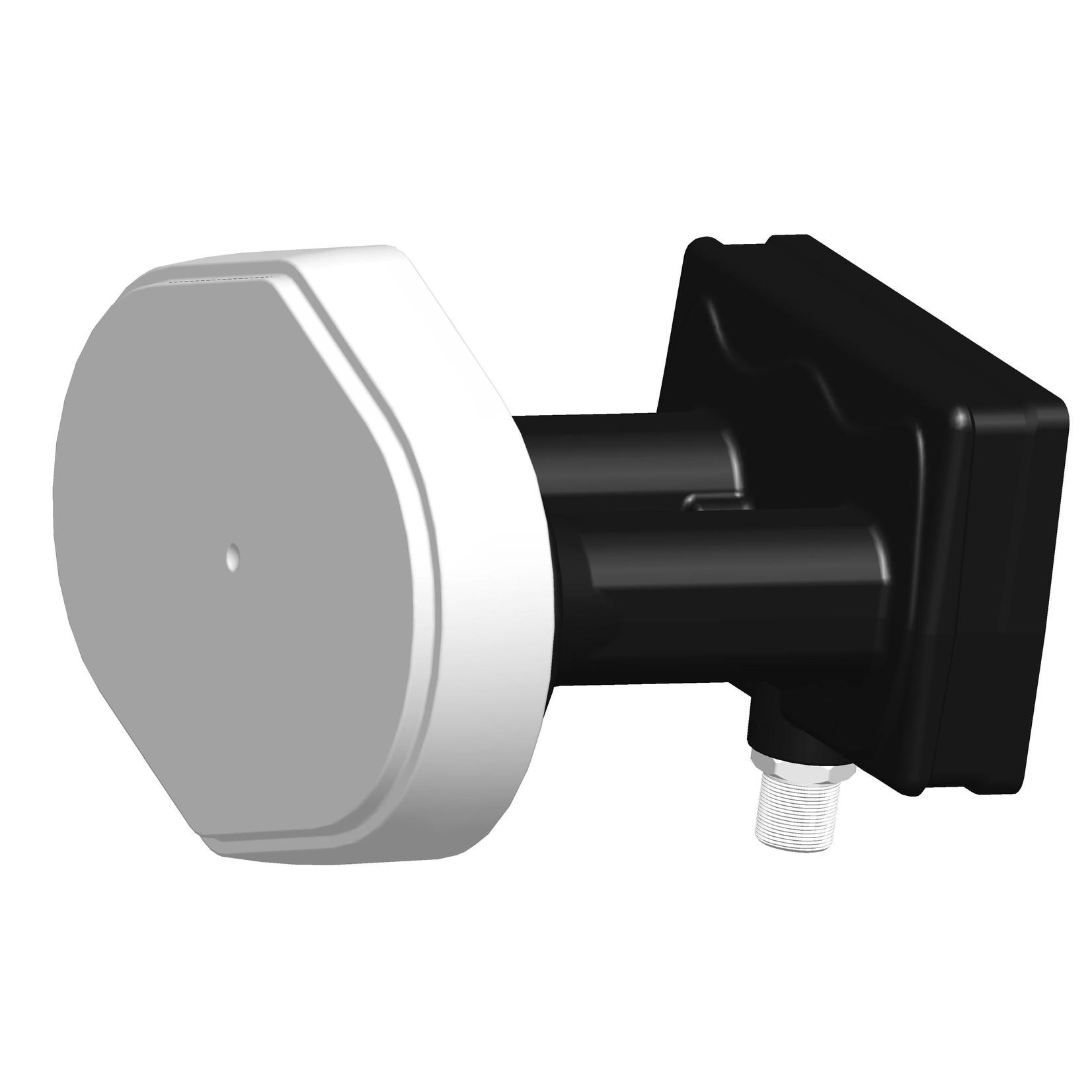 GT LNB DUOBLOC SINGLE  GT-MO3 - 4.3° antenne 60cm - 23mm