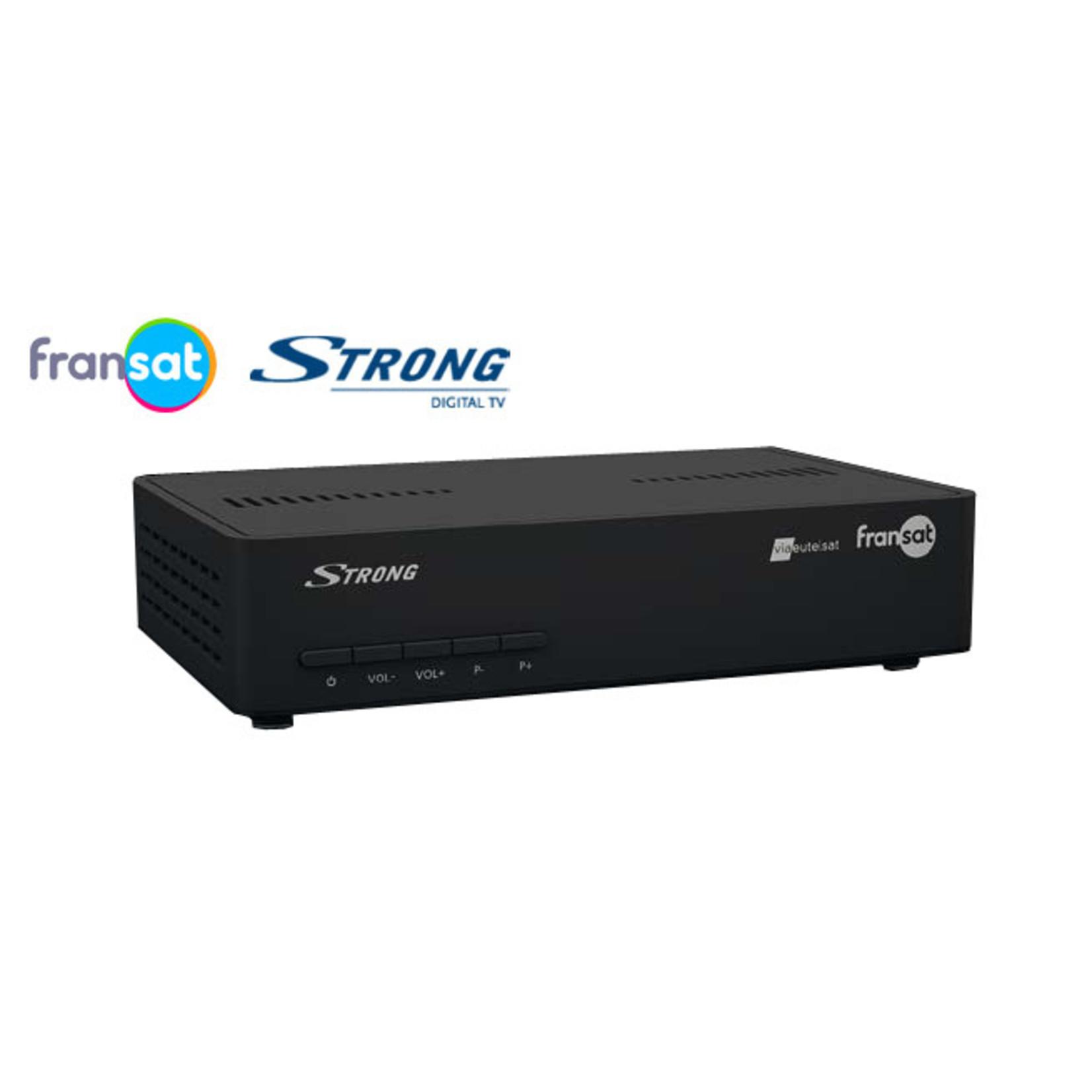 STRONG ONTVANGER FRANSAT - STRONG 7407 MET FRANSAT KAART