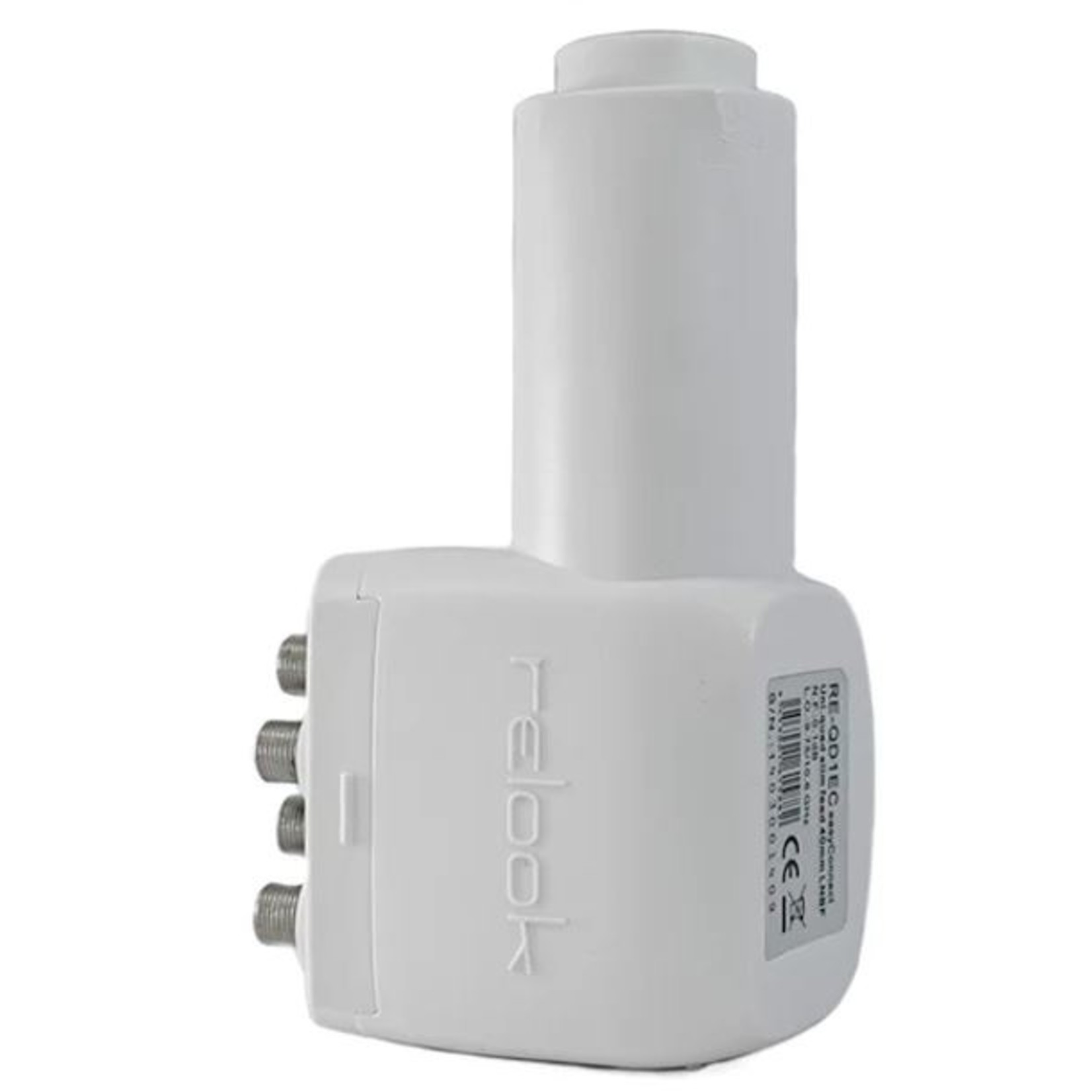 RELOOK LNB RELOOK QUAD SLIM FEED EASY CONNECT 40 mm - 0.1 db