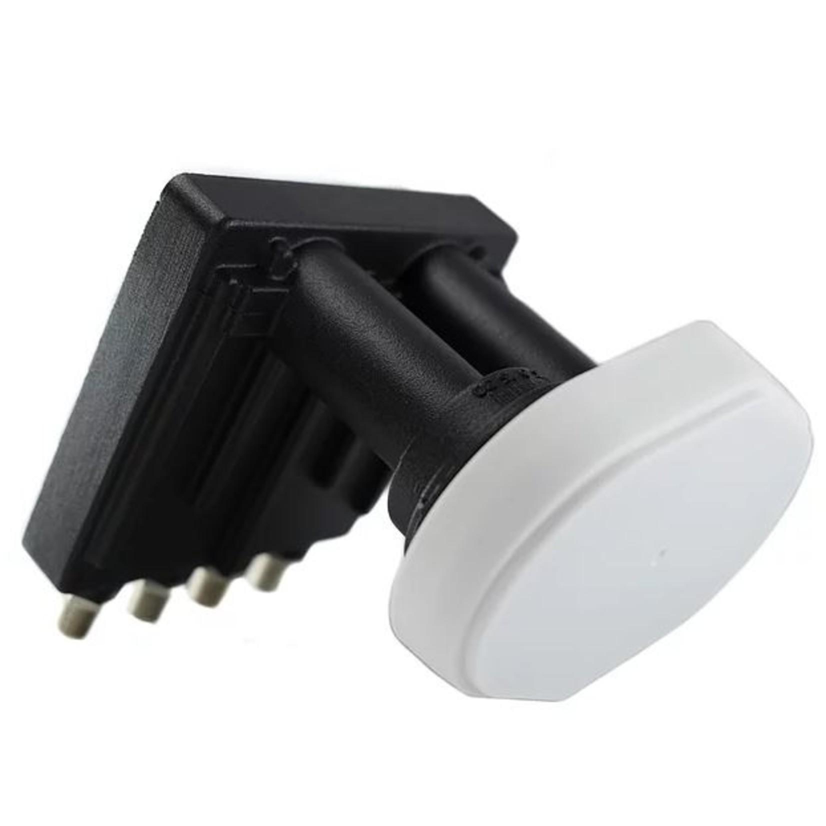 GT LNB DUOBLOC QUAD GT - 4.3° antenne 60cm - 23mm
