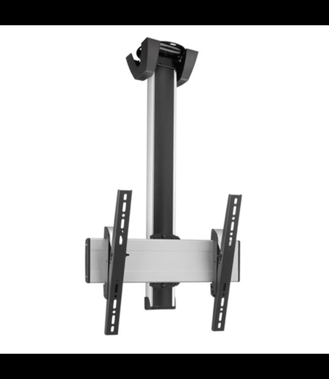 Vogel's Professional SET CT 1564 150 cm - 360° Draaibaar TV Plafondbeugel Zilver/Zwart