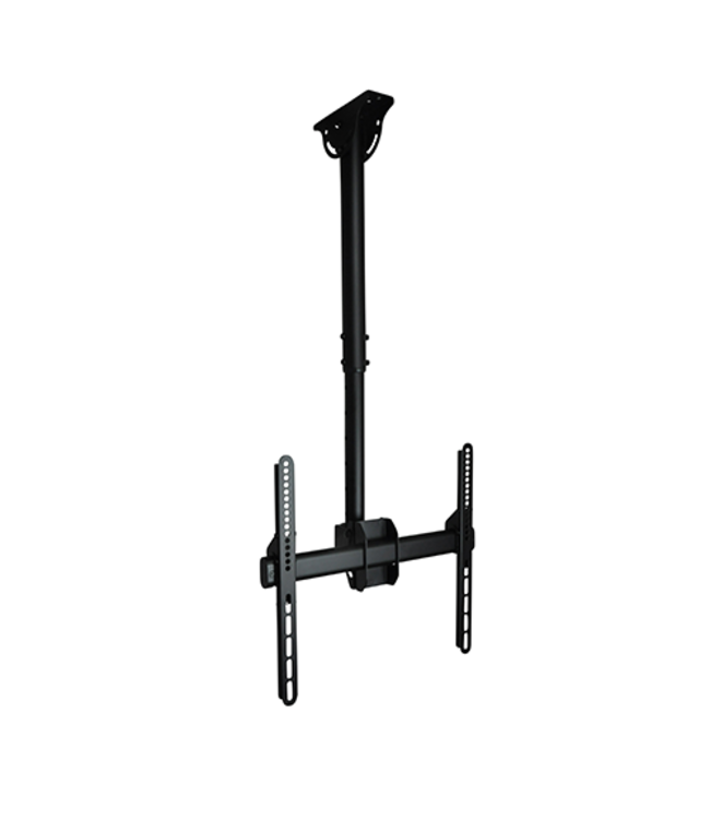DQ Wall-Support Aero 56-91cm 400 TV Ceiling Mount Black