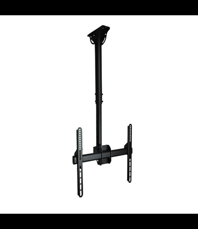 DQ Wall-Support Aero 56-91cm 400 TV Plafondbeugel Zwart