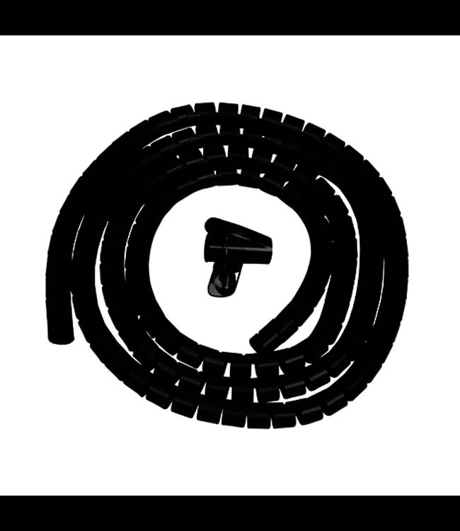 DQ Wall-Support Kabelgeleider 3m Zwart