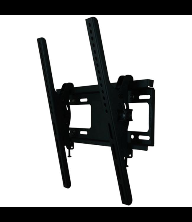 DQ Wall-Support Anna Flex 400 Kantelbare TV Beugel Zwart