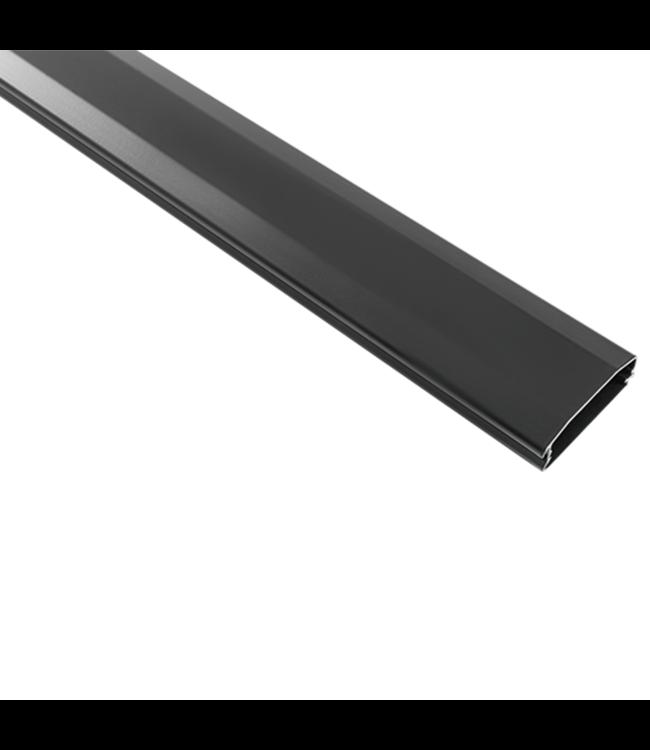 DQ Wall-Support Aluminium Kabelgoot 110 cm Zwart