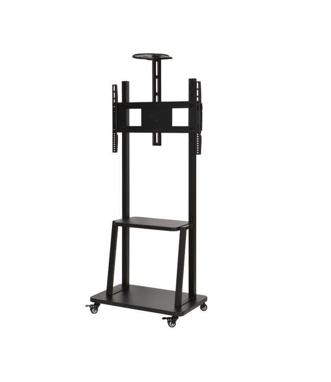 DQ Wall-Support Mobile TV Stand Artemis Black