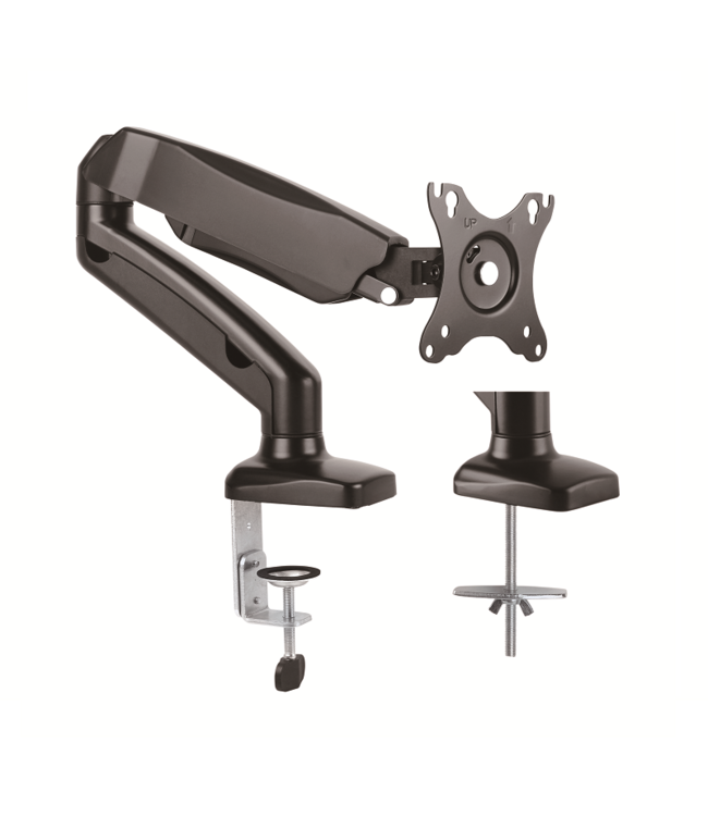 DQ Wall-Support Aris Single Monitor Arm Black