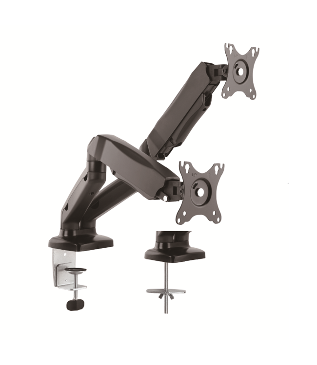 DQ Wall-Support Monitor Arm Aris Double Black