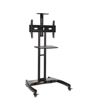 DQ Wall-Support Lupos TV Floorstand Black