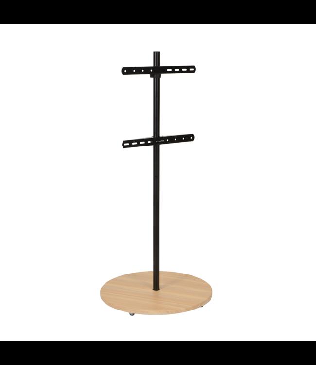 XTRARM Arius TV floorstand beech wood print