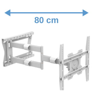 XTRARM Tantal 80 cm Flex 400 TV bracket White