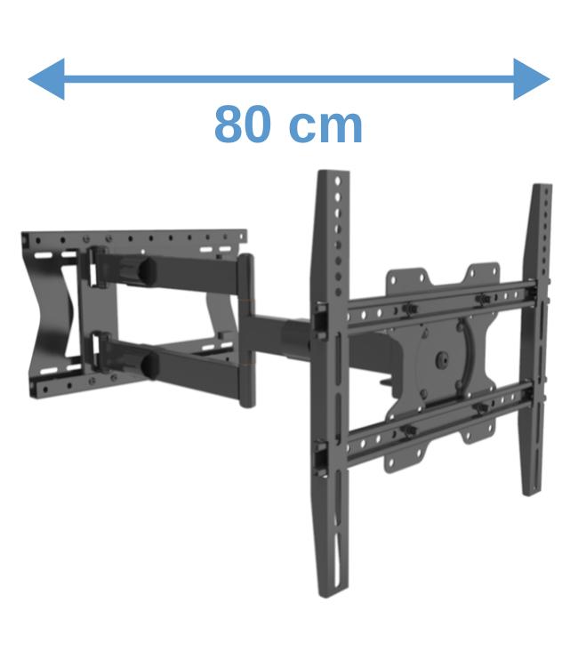 XTRARM Tantal 80 cm Fixed 400 TV bracket Black