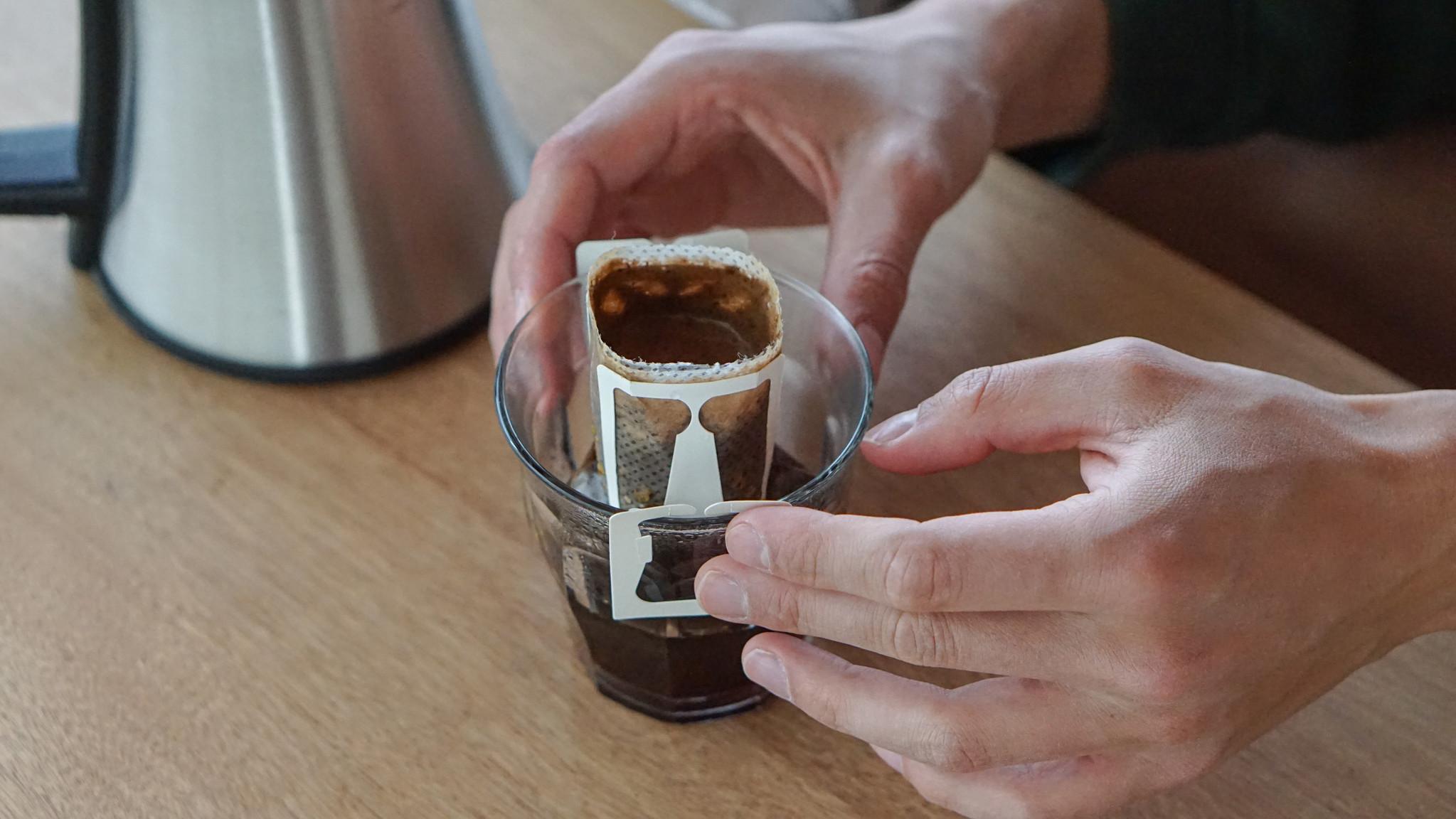 Making filter coffee