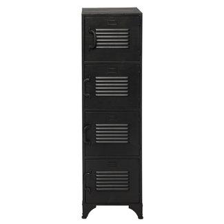 Rootsmann Locker 4 deuren   Zwart