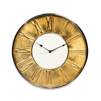 Rootsmann Industriële gouden klok 61cm