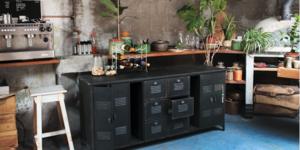 De lieveling van Arvid: Industrieel dressoir XL