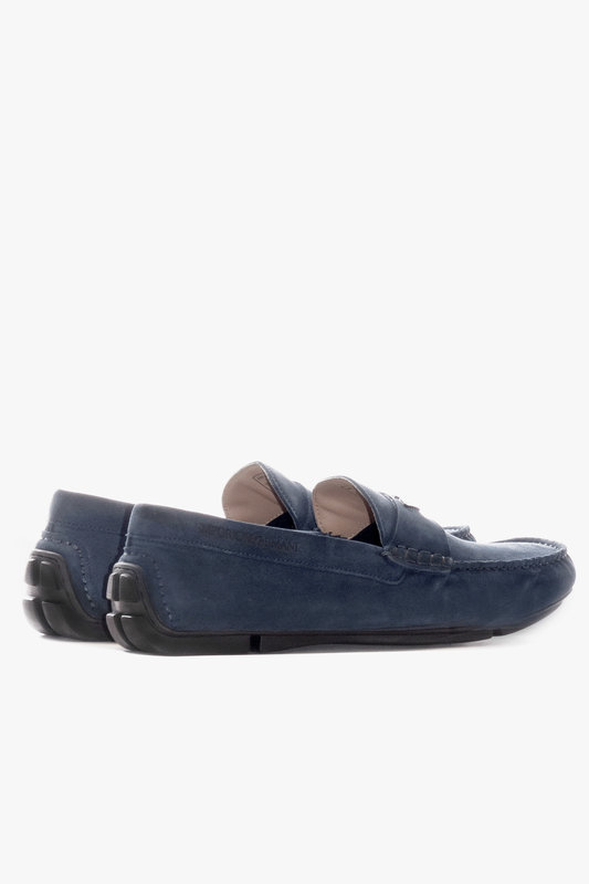 Emporio Armani X4B124 XF188 Suede Loafer (625)