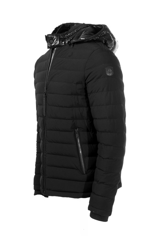 Moose Knuckles Black Rock Jacket (748)