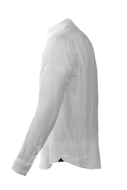 Emporio Armani A1SMDL A10F1 Mens Linen Shirt (1366)