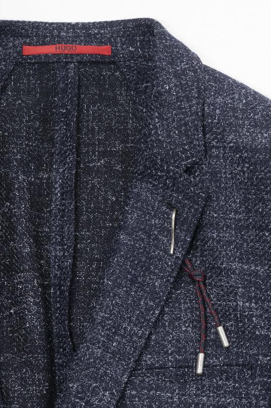 HUGO Hugo Boss 50393875 Mens Wool Blazer (212)
