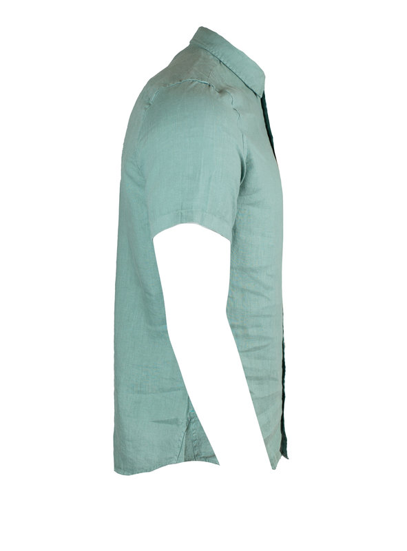 Scotch & Soda 155229 s/s linen shirt (1089)
